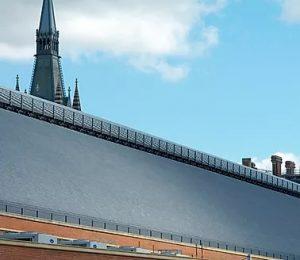 Welsh slate roof